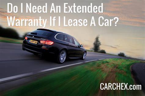 warranty   lease  car