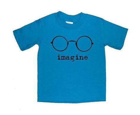 lennon imagine vector t shirt lennon imagine glasses toddler shirt t shirt