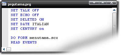 membuat html menjadi exe membuat file exe dari project pegawai pada foxpro frkom10