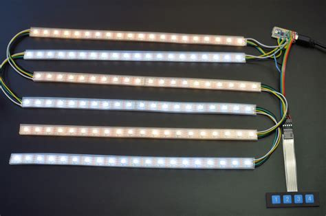 How To Solder Led Light Strips Solder Pro Trinket Keypad Roll Up Light Adafruit Learning System