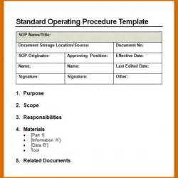 standard operating procedures templates blank fishbone diagram template blank free engine image