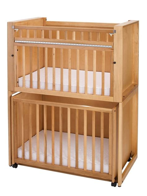 Stackable Cribs by C 4 Four Infant Bunkies Crib Stacking Cribs By