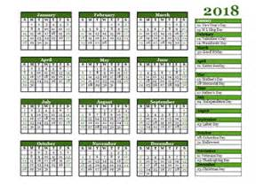 Kalender 2018 Indesign Free 2018 Yearly Calendar Printable Yearly