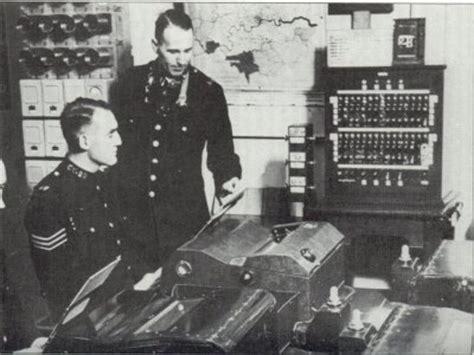 teleprinter time line