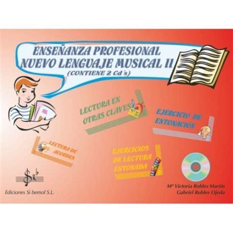 libro teora del lenguaje musical conservatorio de m 250 sica de torrelavega 187 libros de lenguaje musical curso 2016 2017