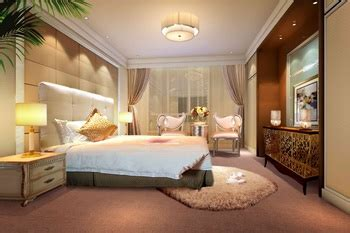 modern luxury spacious bedroom  model