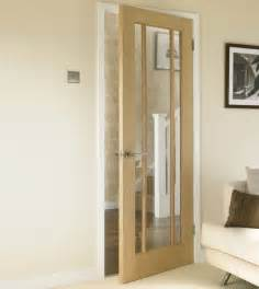 doors howdens worcester oak glazed door hardwood doors