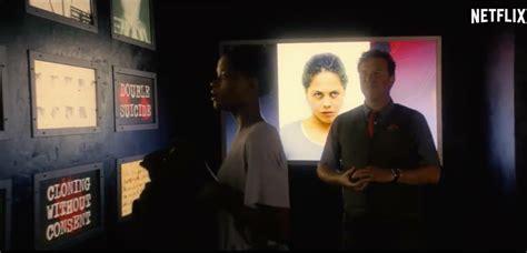 black mirror white christmas reddit woman from white bear in black museum trailer blackmirror