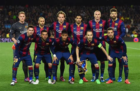 barcelona squad fc barcelona 2009 vs 2015 which team is better the