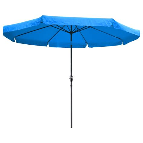 Waterproof Patio Umbrella 8ft 9ft 10ft 13ft Outdoor Patio Aluminum Umbrella Common Led Option Garden Ebay