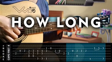 fingerstyle cover tutorial charlie puth how long cover fingerstyle guitar cover