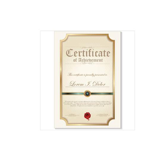 creative certificate templates modern certificate creative template vector 02 vector
