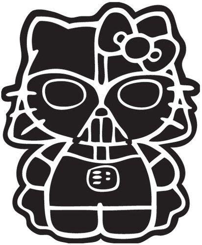 Stiker Helm Hello Kitty by Hello Kitty Darth Vader Sticker Vinyl Decal Choose A
