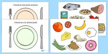 healthy eating sorting activity healthy eating healthy
