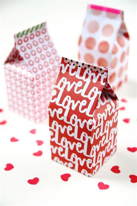 Diy Printable Milk Carton Gift Boxes Gathering Beauty Gift Template 2