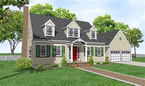 cape cod house plans with attached garage 12 unique cape cod house plans with attached garage home plans blueprints 54456