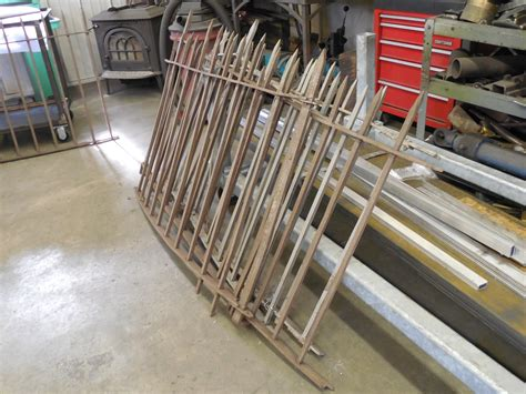 Iron Fence Sections by Coatings Patinas Conserve