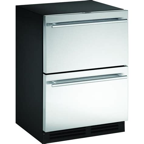 Freezer Drawer With Maker by U Line 5 0 Cu Ft Compact Drawer Refrigerator Freezer