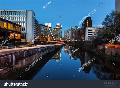 Landscaper Manchester Landscape Of Manchester And River Irwell Passing
