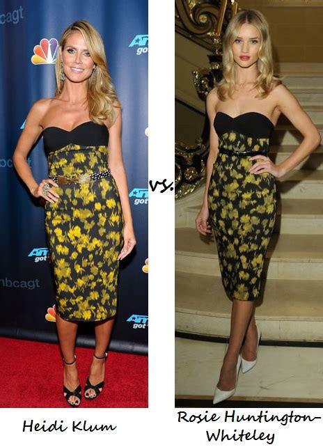 Who Wore Michael Kors Better Heidi Klum Or Hudson by My Fashion