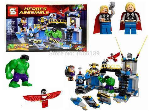 Lego Heroes Assemble Sy 383 B jual lego sy 319 assemble markas lab smash thor marvel uf uf store