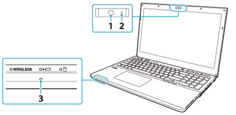 vaio user guide | using the built in camera