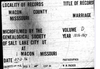 Macon County Illinois Marriage Records Rootdig June 2009
