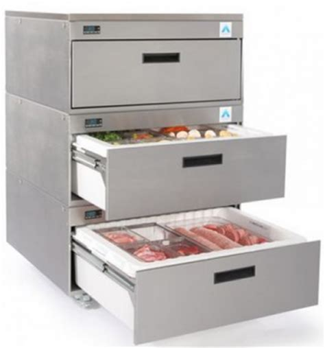 under bench drawer fridge adande three refrigerated drawer counter fridge cover top