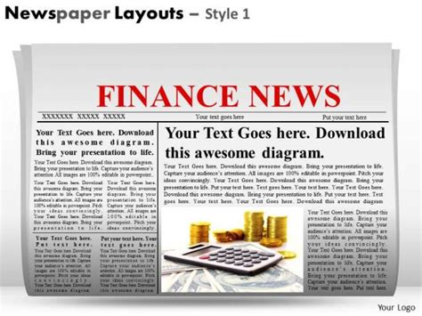 Best Photos Of Powerpoint Newspaper Layout Editable Powerpoint Newspaper Template Newspaper Powerpoint Newspaper