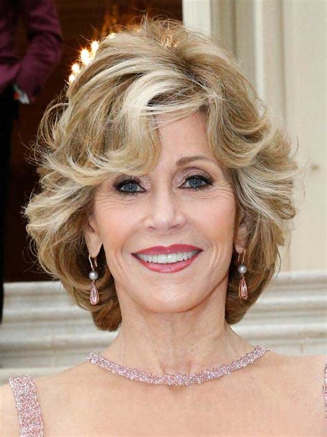 jane fonda hairstyles 2015 medium length shag hairstyles for over 60s short