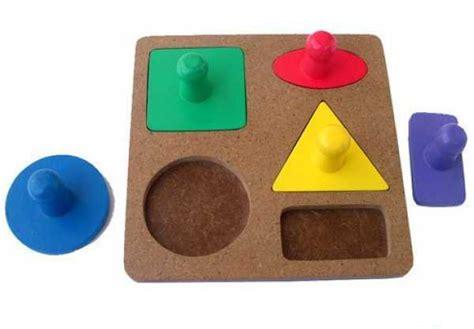 Puzzle Knob Perkalian Bahan Kayu mainan puzzle yo n be