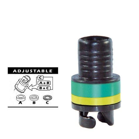luchtpomp rubberboot adapter ventiel voor opblaasboten en rubberboten
