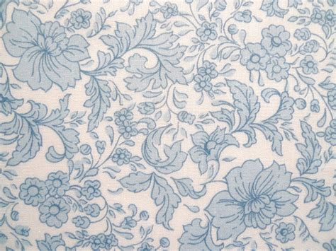 blue floral print vintage fabric light blue floral print fabric sewing