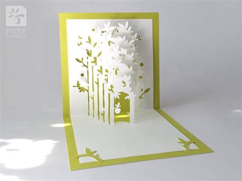 3d pop up card templates free pdf papercut template pop up card instant