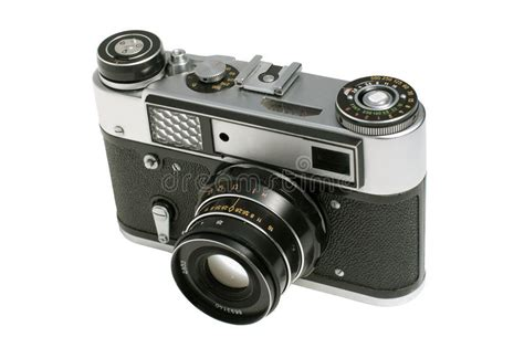 Kamera Analog Akica Kr727 Timer 1 alte analoge kamera stockfoto bild metall leuchte 14095360