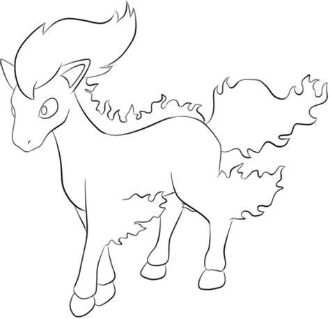 pokemon coloring pages horsea coloriage pok 233 mon ponyta coloriages 224 imprimer gratuits