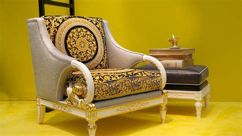 Versace Armchair by Versace Barocco Rug Furniture Ves24958 The Realreal Idolza