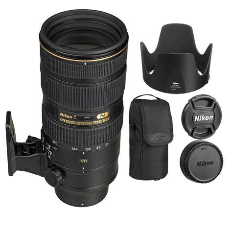 nikon new new nikon af s nikkor 70 200mm f 2 8g ed vr ii lens