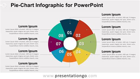 powerpoint chart templates free pie chart infographic for powerpoint presentationgo