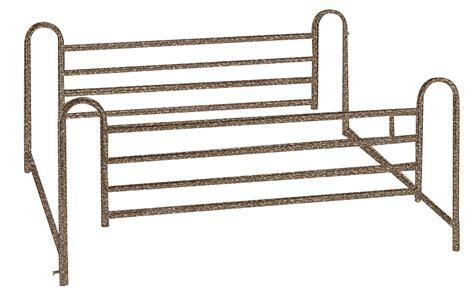 bed rails for full bed full length hospital bed side rails 1 pair baltimore