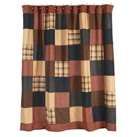 Rustic Country Shower Curtains Patriotic Patch Shower Curtain Country Rustic Patchwork Block Primitive 72x72 Ebay