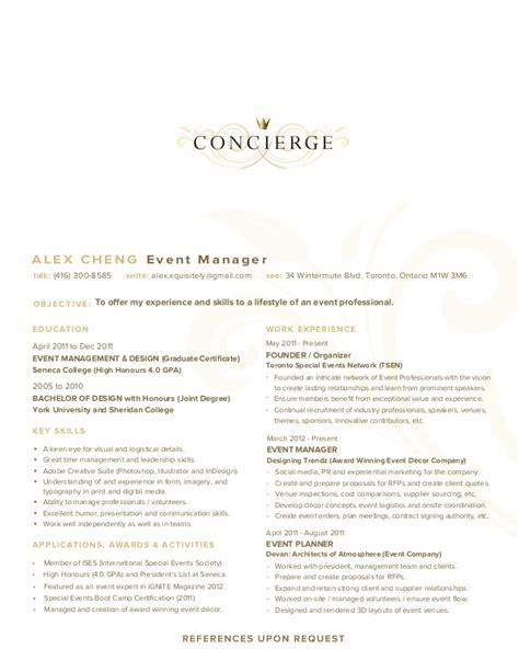 Residential Concierge Resume Sample   BestSellerBookDB
