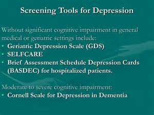 mood l for depression ppt tool on depression assessment and treatment for