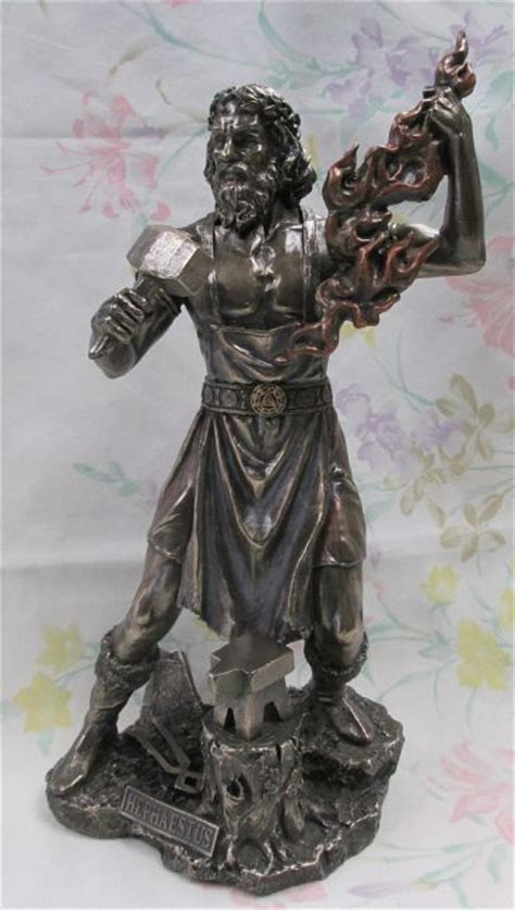 greek god statues hephaestus blacksmith god statue