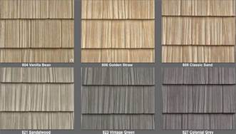 Vinyl Cedar Shake Siding Colors Vinyl Siding Perfection Shingle Like Real Cedar 34 Colors