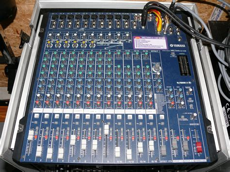 Second Mixer Yamaha Mg166cx yamaha mg166cx usb image 901313 audiofanzine
