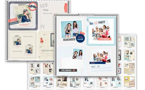 templates for photoshop by graphic node photo album expert templates for adobe photoshop par uab