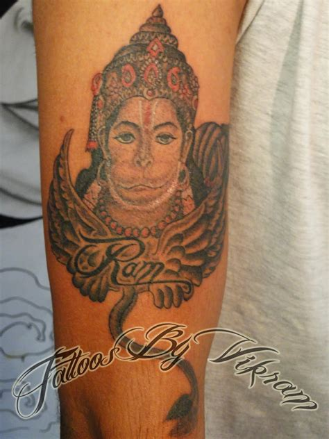hindu tattoo designs of gods shiva vishnu krishna brahma ganesha hanuman and
