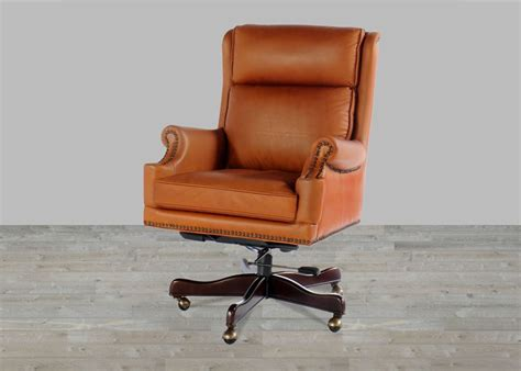 vintage leather desk chair saddle leather vintage office chair