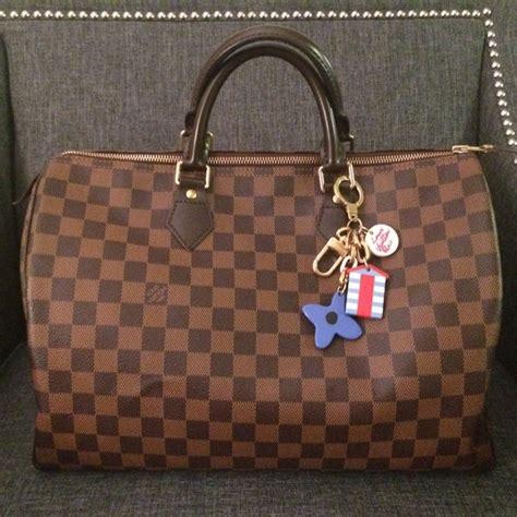 Louis Vuitton Speedy Bandou Damier Sz 25cm louis vuitton authentic louis vuitton damier ebene speedy 35 from t s closet on poshmark